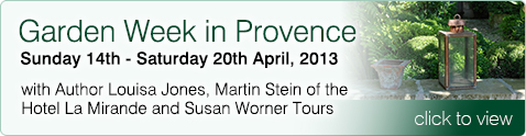 Gardens Weeks in Provence with Louisa Jones