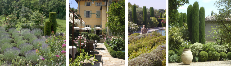Provence – Private Gardens of Leading Designers based in Hotel La Mirande, Avignon
