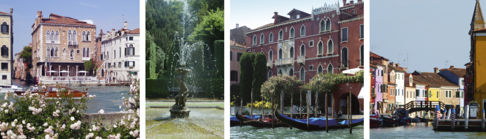 Secret Gardens of Venice  and the Veneto