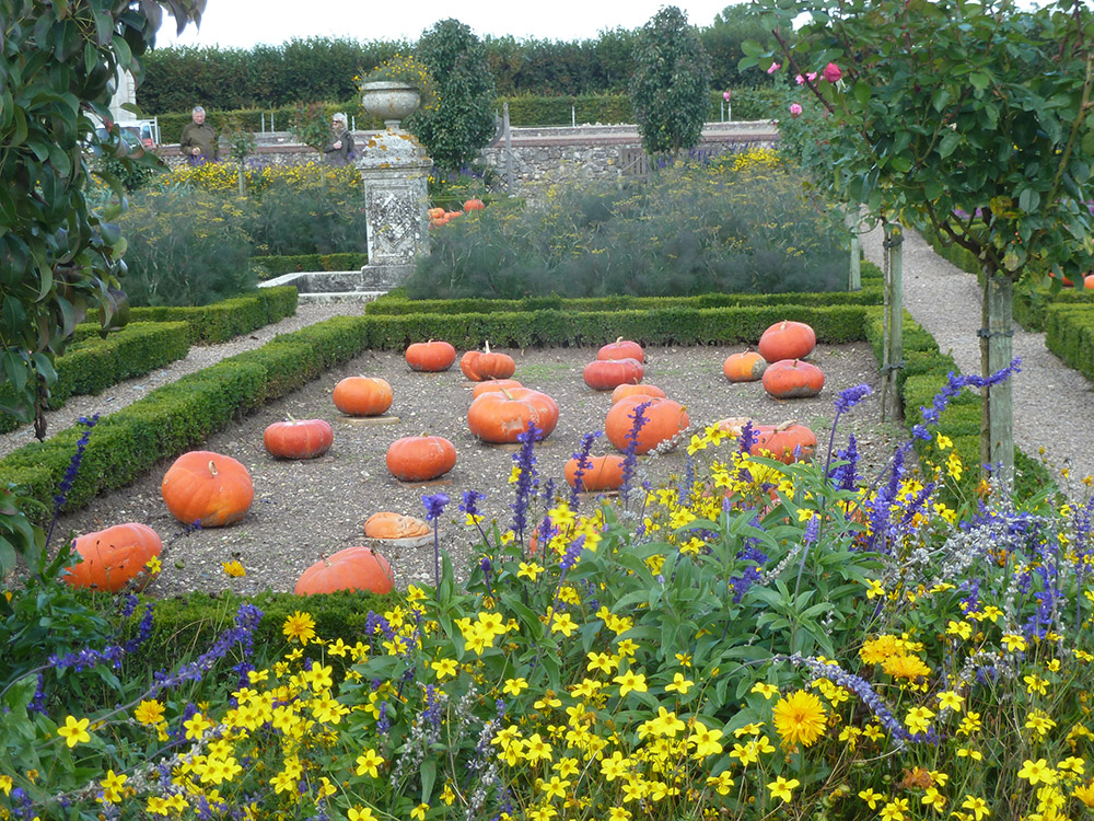 Loire And Le Berry Decorative Potager Gardens Susan