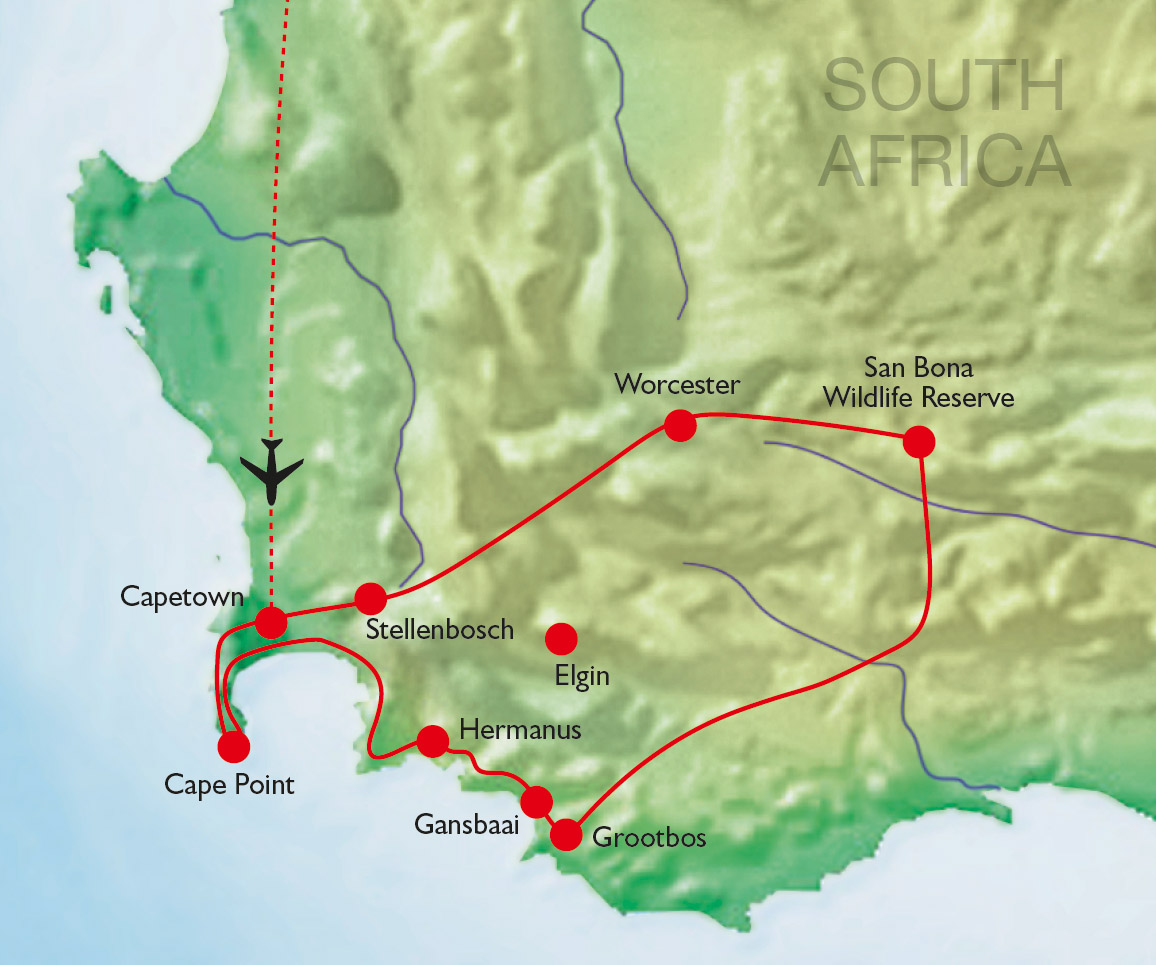 South Africa – The Western Cape – Exceptional Gardens and Private